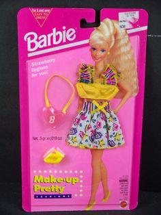 1994 Barbie - Strawberry (Make-Up Pretty Fashions) #12437 ?
