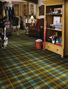 Shaw Cozy Escape Scottish Plaid Carpet