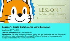 An Excellent Lesson On How Students Can Use Scratch Jr for Digital Storytelling ~ Educational Technology and Mobile Learning
