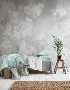 Japandi word is the fusion between Japanese and Scandinavian words. Experts say this is the year of Japandi interior trend Room Ideas Bedroom, Bedroom Wall, Bedroom Decor, Interior Walls, Interior Design Living Room, Living Room Decor, Diy Para A Casa, Deco Studio, Faux Walls