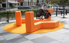 Banc Polyéthylène Boa - Concept Urbain - Fabricant de mobilier urbain – Street furniture manufacturer