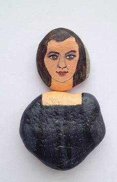 Arya Stark  fridge magnet, painted on stones