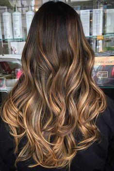 Great Highlighted Hair for Brunettes ★ See more: http://lovehairstyles.com/highlighted-hair-for-brunettes/ #WomenHairHighlightsBrunettes