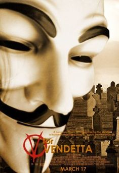 V for Vendetta (Empire's 500 Greatest Movies of All Time) Can't believe it's only Dc Movies, Home Movies, Great Movies, Movies To Watch, Amazing Movies, V For Vendetta Poster, V For Vendetta 2005, Movie Poster Art, Film Posters
