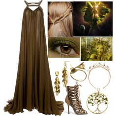 """Gaia (Goddess of the Earth, Mother Earth)"" by lilacmayn on Polyvore"