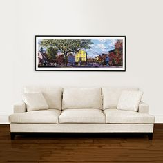 Artist Rich Ahern's framed prints make a great addition to any room.