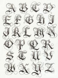 Tatto Ideas 2017 – lettering typographie calligraphie gothique majuscules… Tatto Ideas & Trends 2017 – DISCOVER lettering typography uppercase gothic calligraphy Discovred by: Constance Dvllr 2017 Lettering, Tattoo Lettering Fonts, Gothic Lettering, Graffiti Lettering Fonts, Fonts For Tattoos, Chicano Tattoos Lettering, Lettering Fonts Design, 2017 Typography, Tattoo Font Styles