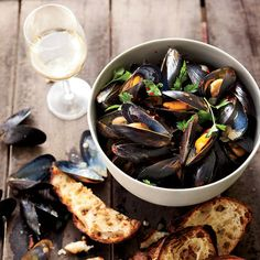 Fennel Mussels with Piquillo Rouille | Food & Wine