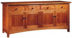 New Century Sideboard