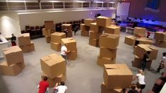Nerf War - Awesome Field and Battle The youth at our church wanted to have Nerf Wars, so we transformed the sanctuary into the battlefield. Round after round...