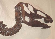 Twitter / CreativeLorie: Edmontosaurus - crestless ...