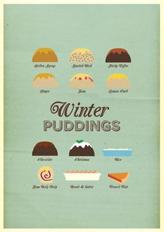 Winter Puddings.  Stephen Wildish presents THE FRIDAY PROJECT