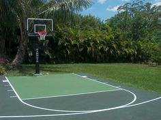 backyard basketball court dimensions ckyard sketll court size half dimensions cost of a full sketll court dimensions backyard basketball court dimensions australia small basketball court dimensions in Backyard Fences, Backyard Projects, Backyard Ideas, Backyard Games, Fence Ideas, Landscaping Ideas, Garden Ideas, Patio Interior, Interior Exterior