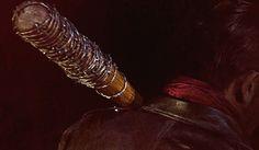 "Negan's Baseball Bat ""Lucille""..The Walking Dead..cinemablend.com"
