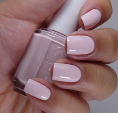 Essie: Romper Room ... spring 2014 collection. Soft pink creme nail polish.