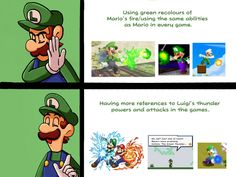 Mario And Luigi Games, Super Mario And Luigi, Super Mario Art, Super Smash Bros Memes, Nintendo Super Smash Bros, Mario Memes, Mario Funny, Mario Brothers, Mario Bros