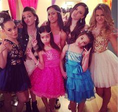 Maddie Ziegler, Kendall Vertes, Asia Monet Ray, Nia Frazier, Payton Ackerman, Mackenzie Ziegler and Chloe Lukasiak
