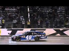 VIDEO (Nov. 5, 2012): Jimmie Johnson drove the No. 48 Lowe's Chevrolet to Victory Lane on Sunday, Nov. 4 at Texas Motor Speedway. PRN calls the final lap as Johnson takes the checkered flag.