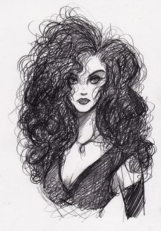 homemadedarkmark: Bellatrix Lestrange I love her, but I hate her. It's a complicated relationship