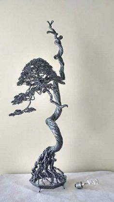 Edson Virgilio wire bonsai