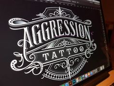Aggression Tattoo by Mateusz Witczak #Design Popular #Dribbble #shots