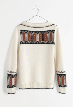 Madewell merino fresh powder sweater.