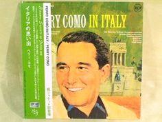CD/Japan- PERRY COMO In Italy w/OBI RARE MINI-LP XQAM-1015 remaster #EasyListening