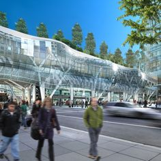 Transbay Transit Center, opening in 2017, will be a state-of-the-art multimodal transit station in downtown San Francisco, linking 11 transit systems and connecting the city to the region, the state, and the nation. Pelli Clarke Pelli Architects