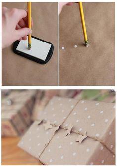 Упаковка из крафт-бумаги — идеи и вдохновение - Ярмарка Мастеров - ручная работа, handmade