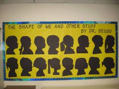 Nice bulletin for Dr. Seuss Day, but I like the idea of the shadows for a bulletin board for any day.