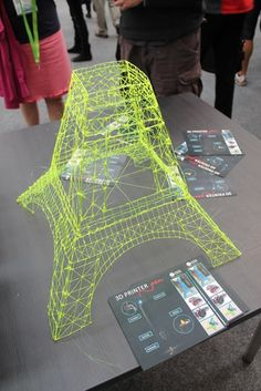 3D template - parts of the Eiffel Tower   3D Printer Pen at ULearn ...
