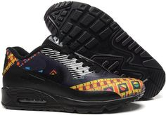 b898ae2b0fa0 Nike Air Max 90 Magic World men women Black All Nike Shoes