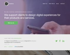 Awesome Web Designs with Big Photography - Rokivo