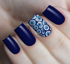 Turkish eye nail stickers - Source by Fancy Nails, Pink Nails, Pretty Nails, Cute Acrylic Nails, Acrylic Nail Designs, Nagellack Design, Nail Art Designs Videos, Dot Nail Art, Nails Only
