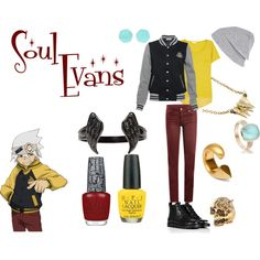 Inspired by Soul from Soul Eater Casual Cosplay, Cosplay Outfits, Anime Outfits, Cosplay Costumes, Cool Outfits, Casual Outfits, Fashion Outfits, Anime Inspired Outfits, Character Inspired Outfits