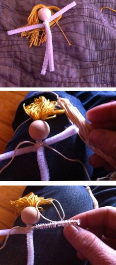 Waldorf Bendy Doll Tutorial (after a quick glance, I think this tutorial is the most promising of those I've seen.)