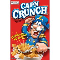 The Quaker Oats Company Issues Voluntary Recall of a Small Quantity of Cap'n Crunch's Peanut Butter Crunch Cereal Distributed to Five Target Stores Due to Possible Health Risk Captain Crunch Cereal, Cereal For Diabetics, Best Cereal, Breakfast Cereal, Breakfast Kids, Breakfast Items, Breakfast Recipes, Shopping, Packaging