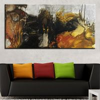 Guarded Heart Painting Abstract Art wall painting for home decor ideas print on canvas oil painting No Framed