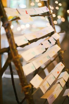 Place card rack
