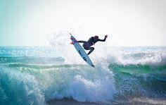 Surfer Kilian Garland