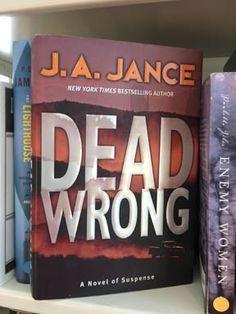 Ever-popular Northwest mystery writer J.A. Jance, featuring Sheriff Joanna Brady. #FOMLBookShop #MedfordLibrary #ShopNowCouldBeGoneTomorrow #MysteryBooks