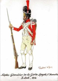Best Uniform - Page 69 - Armchair General and HistoryNet >> The Best… Kingdom Of Naples, Kingdom Of Italy, Army Uniform, Military Uniforms, Best Uniforms, Marine Commandos, Italian Army, Naples Italy, French Revolution