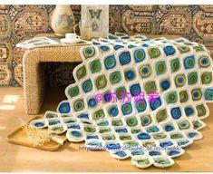 Crochet Motif, Ottoman, Decorative Boxes, Blanket, Wall, Home Decor, Farmhouse Rugs, Throw Pillows, Tricot