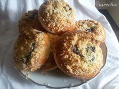 Hanácke koláče (fotorecept) - recept | Varecha.sk Muffin, Treats, Breakfast, Sweet, Food, Basket, Sweet Like Candy, Morning Coffee, Candy