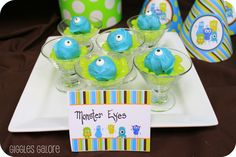 Monster Theme Party Food | Monster Bash - Giggles Galore