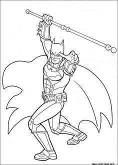 Batman Holding A Stick