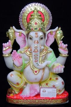 Lord Ganesha, son of Lord Shiva and Goddess Parvati