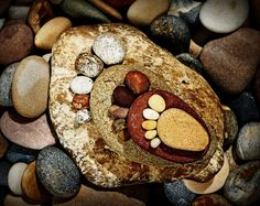 work of art made from stones