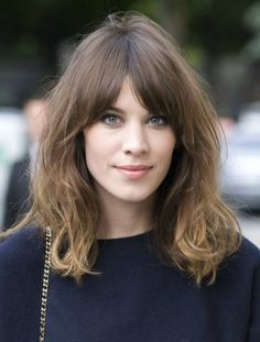 """Searches for """"Curtain Bangs"""" Are Up 600% on Pinterest—Here's Why via @ByrdieBeauty"""