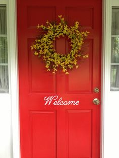 Welcome to my home w Martha Stewart stencils!